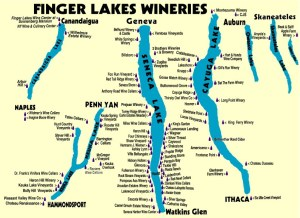 FingerLakes map