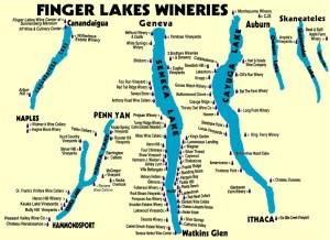 FingerLakes map